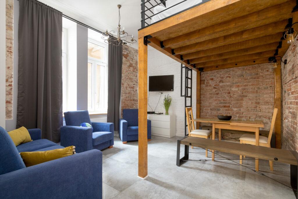 Mieszkanie z antresolą Zumax.co