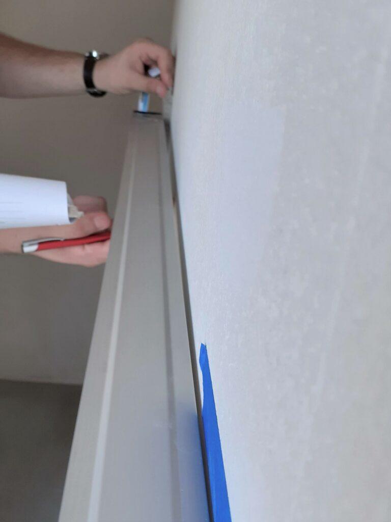 odbiór mieszkania odchylenie ściany | Zumax.co